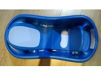 Excellent Condition Bathtub Sure Comfort Deluxe To Toddler, Deep Ergonomic Design, Blue - £10