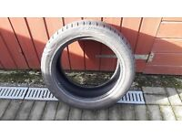 "Part worn 17"" Kumho tyre"