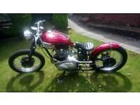 1958 Triumph Bobber 3ta 21