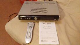 SHARP - Digital TV Recorder - TU-R160HA