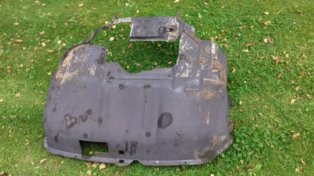 Vw t4 transporter engine cover belly pan