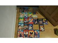 Cartoon Comedy DVD collection - Family Guy Series, American Dad Series, Archer
