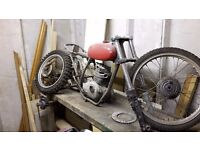 Triumph T25SS 1970 OIF project