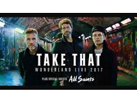 x2 Take That Tickets - Manchester 18/5
