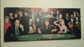 Scarface canvas wall picture