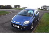 FIAT PUNTO EVO GP 2010,Alloys,Air Con,Full Service, History,PAY AS YOU DRIVE Finance AVAILABLE