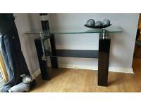 Tv stand and side unit