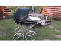 Marmet Vintage High Pram Racing Green
