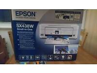 EPSON SX438W Printer and Scanner