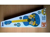 BNIB Lexibook Minions/ Despicable Me- Children's Music Acoustic Guitar With Strap & Guide