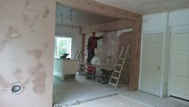 General Builder, Tiling, Kitchens, Bathrooms, Studwork, Plastering, Painting & Decorating, Plumbing