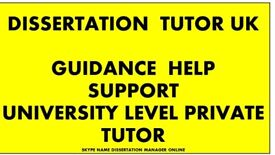 Dissertation Tutor/literature review writing help/assignment/proofread/research/essay/Thesis