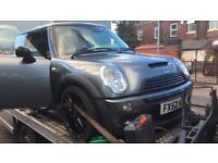 Mini Cooper s 2003 1.6 supercharged spares breaking EC w11b16a