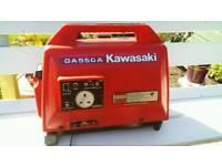 SOLD, Kawasaki,petrol 4 stroke generator.