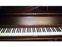 Upright Piano in good condition. Must be able to collect from house adjoining garage