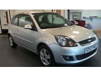 2007 07 FORD FIESTA 1.2 ZETEC CLIMATE 16V 3d 78 BHP *PART EX WELCOME*24 HOUR INSURANCE*