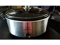Crock pot slow cooker 6.5L