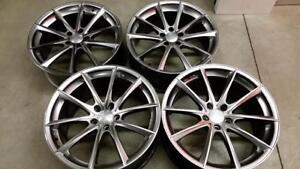 (H268) 4 Jantes 20 Pouces - 4 Mags-Rims 20 inch Staggered - Braelin - BMW X5 5x120