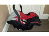 Hauck first car seat & Booster cushion £5.