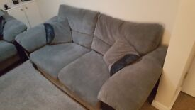 DFS 2 and 3 seater sofa