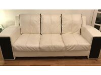 DFS Leather Sofa 2+3 seater