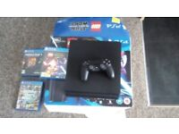 PlayStation 4 for sale mint condition + games