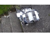 Engine ajs regal raptor 125 all partsavailable