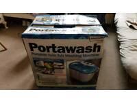 Portawash portable twin tub washing machine