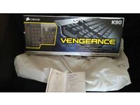 Corsair K90 mechanical keyboard, boxed and never been used