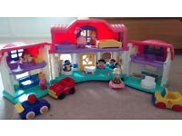 Fisher-Price World of little people sweet sounds home