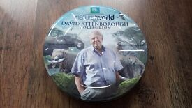 *Limited edition* David Attenborough 10 disc Collectors Tin