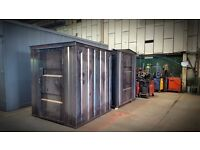 Secure Store/Garden Shed Container Unit