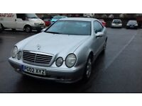 MERCEDES 230 CLK KOMPRESSOR AUTOMATIC 2002 AVANTGARDE TOP OF THE RANGE MAY TAKE PART X