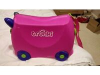 Trunki Ride-on Suitcase - Trixie (Pink)