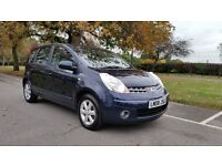 NISSAN NOTE 1.6 ACENTA 08 PLATE 2008 3 F/KEEPER 100,000 MILES FULL SERVICE HISTORY AIRCON ALLOYS
