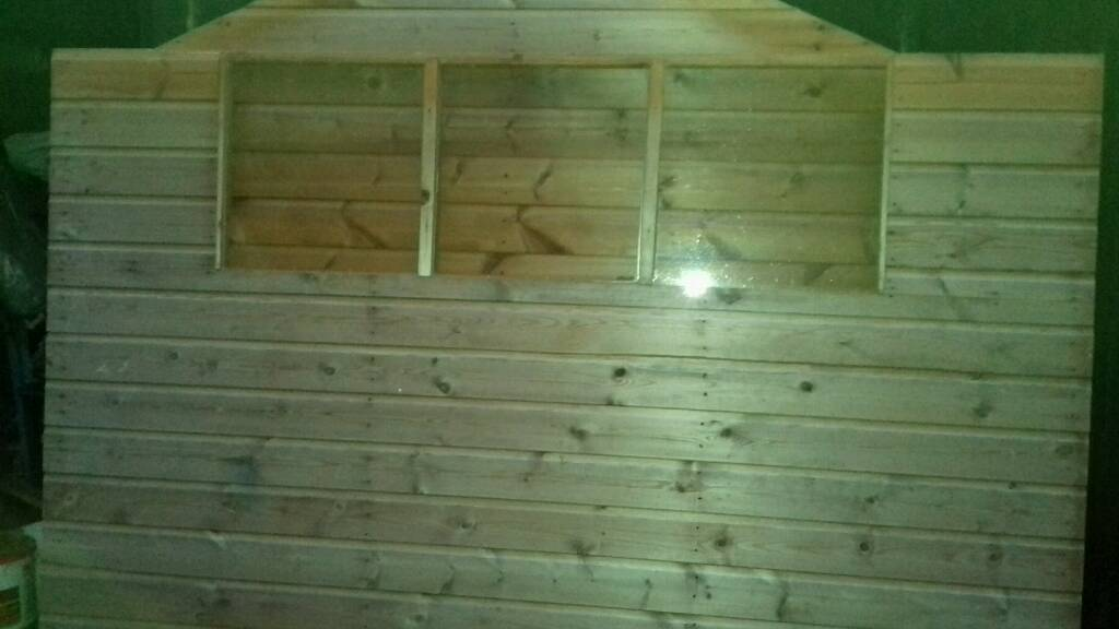 Garden Shed 8x6 foot*Tongue and Groove*6 Months