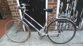 "Purple Ladies 26"" Raleigh Vintage Bike (also selling my son 16"" bike)"