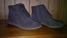 A pair of Clark's ladies ankle boots size 5.5.Worn only once. As new condition.