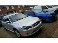 2004 subaru legacy 2.0 petrol AWD not ford focus astra golf civic