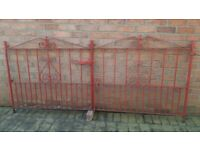 Iron Gates for Driveway