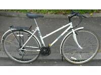 Ladies British Eagle Hybrid Bicycle For Sale in Good Working Order