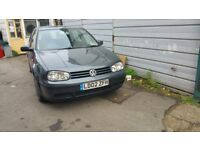 2002 VOLKSWAGEN GOLF AUTOMATIC NICE FAMILY CAR