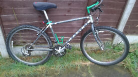 "Vintage Marin Bobcat Trail (1993/4?) project spares/repairs. Tange Cro-Mo 17"" frame."