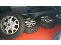 Ford Transit Custom 2014 alloy wheels