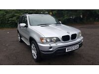 2002 BMW X5 3.0 SPORT AUTO, 12 MONTHS MOT FULL SERVICE HISTORY HPI CLEAR