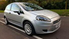 FIAT PUNTO GRANDE 09 LOW MILES 46K IN SILVER 1 2 PETROL GREAT RUNNER CITY DRIVE