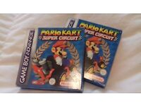 This is Mario kart Super circuit for the gameboy advanced and for the Nintendo ds / New.