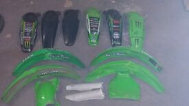 Motorcycle frame parts