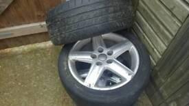 17. Inch Audi Alloy wheels