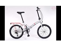 "universal wayfarer 20"" folding bike"